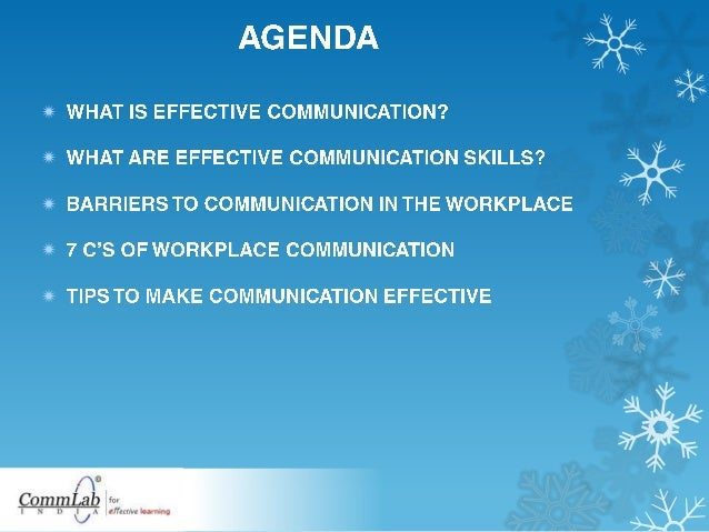 Effective Communication At Workplace - Know How