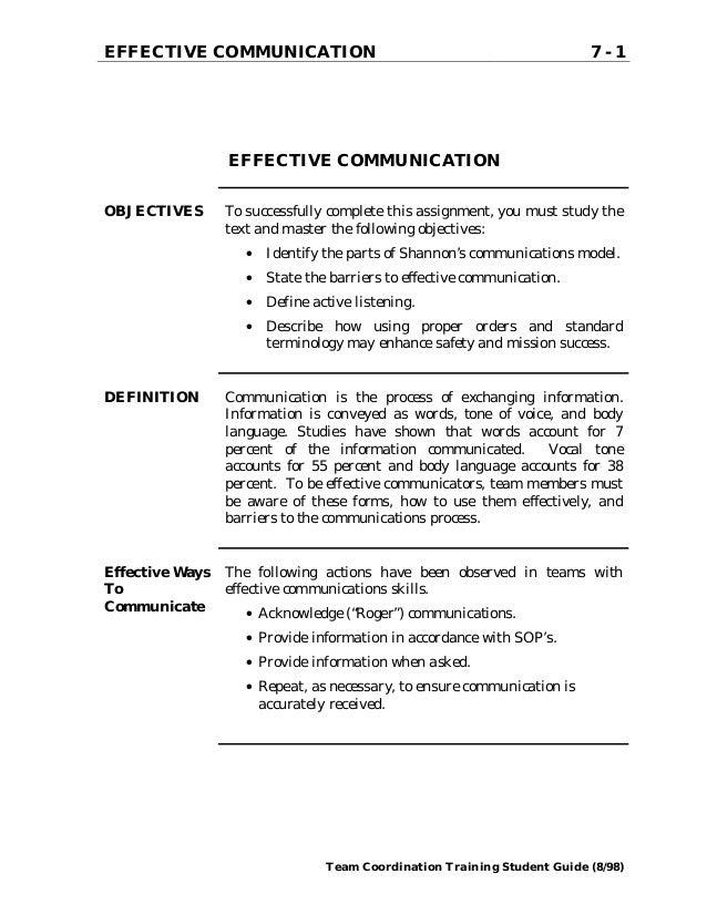 BCOM 275 Demonstrative Communication