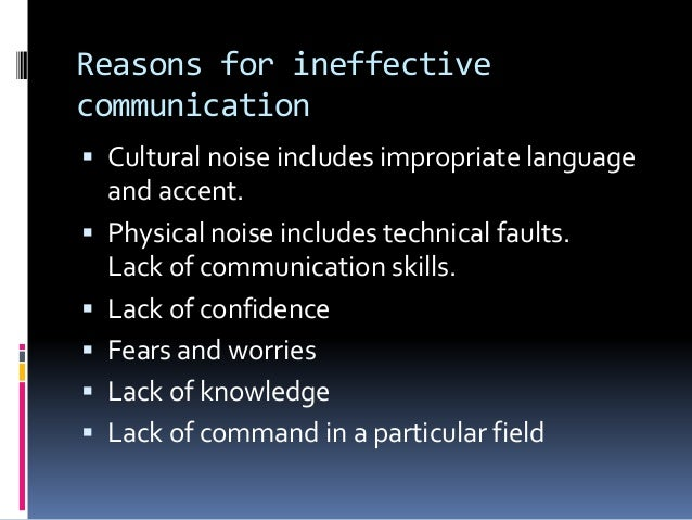 reasons for comunication Top 10 reasons to learn communication skills by jojo tabares study after study shows that effective communicators have longer marriages, deeper friendships, better relationships, more successful college and career experiences, make more money, and are generally happier than their less articulate counterparts.