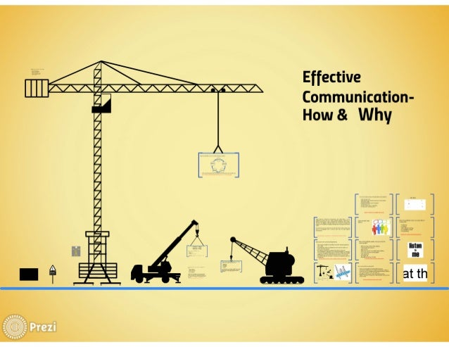 Effective  Communication- How & Why