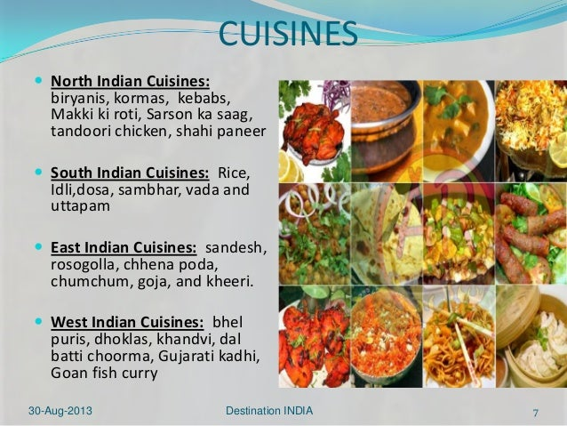 Effective communication final ppt Cuisines of india