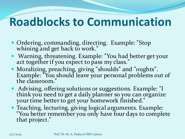 effective communication for effective teaching