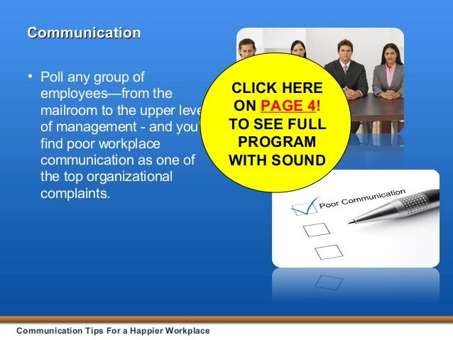 Effective Communication in the Workplace PowerPoint, DVD