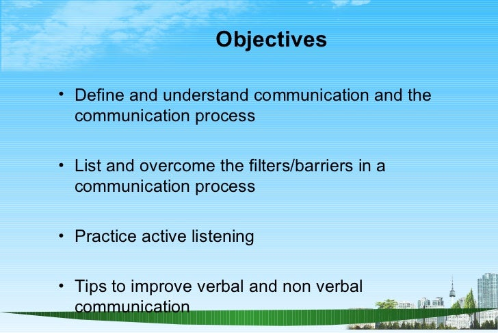 Effective Communication Skill Ppt  Bec Doms Mba