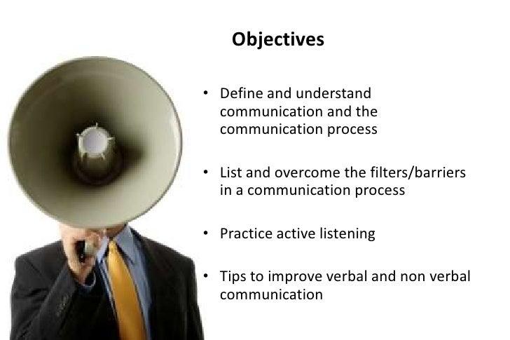Effective communication skills Slide 2