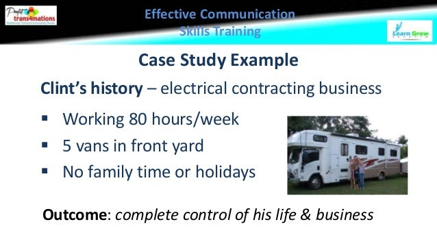 effective business communication case study University: humanities, health sciences, and the business school this case study communication between onshore and offshore academics.