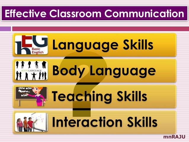 communication in the classroom essay A typical day in a pre-school or infant's school classroom would include activities  such as  we will write a custom essay sample on effective communication in.