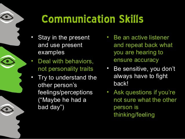 am i a good communicator Free essay: are you a good communicator may 31, 2010 abstract thinking that i am basically a good communicator, there is always room for improvement and.