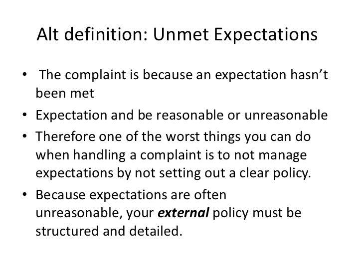 complaint definition