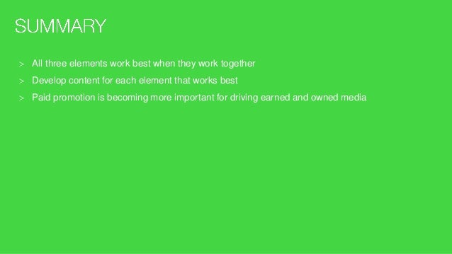 Hummingbird update in 2013 meant Google uses social signals as a ranking factor Look at keyword and content strategy shoul...