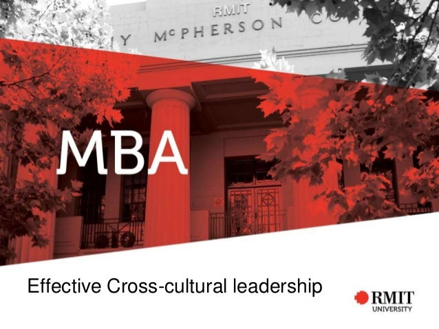 Effective Cross-cultural leadership
