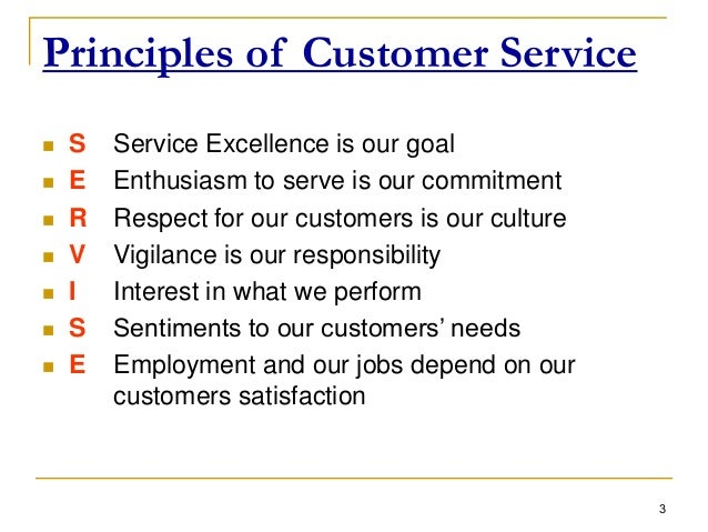 culture and customer service excellence