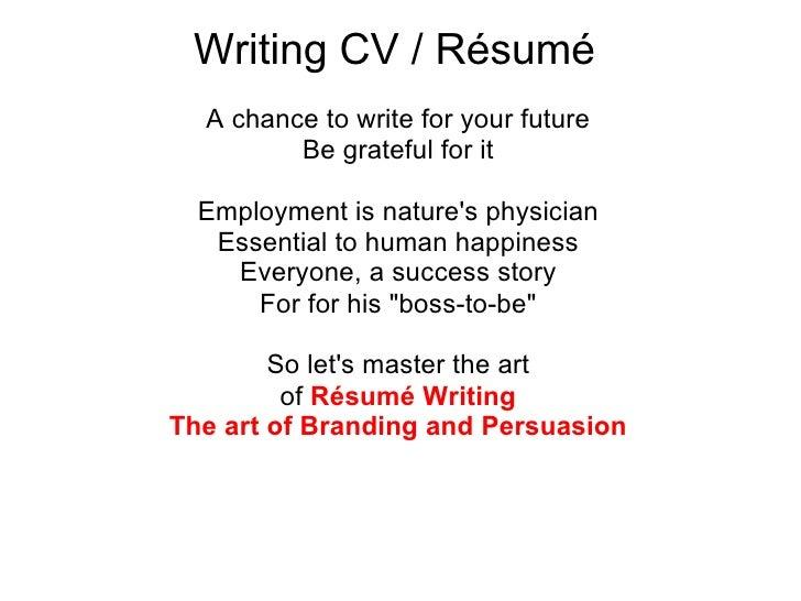Job-Winning Resume Writing Services