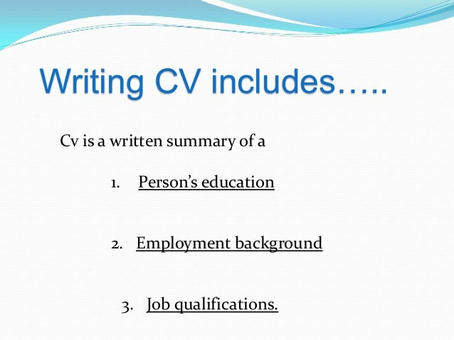 Image result for person writing CV