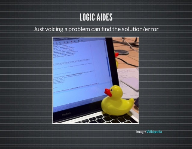 LOGIC AIDES Justvoicingaproblem can find the solution/error Image:Wikipedia