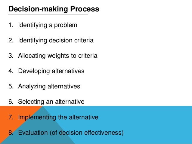 difference between rational and irrational decision making Rational, nonrational and irrational decision making in rational decision making the difference between winning and succeeding.
