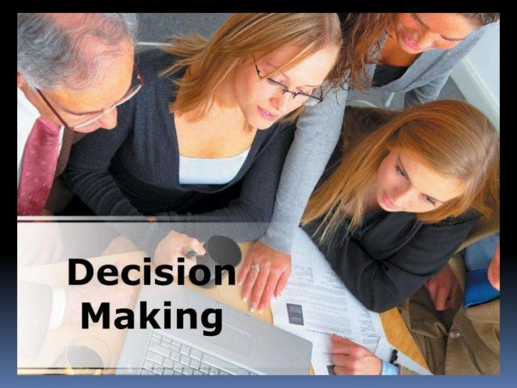 Key TopicsIntroductionThe Decision-making processDecision making stagesDecision-making modelsDecision StylesDecision Imple...
