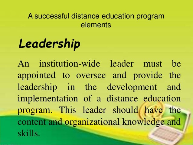 effectiveness of open and distance education In a study of india's national open school, the most comprehensive distance   needs to develop distance education because it is adaptable, cost effective,.