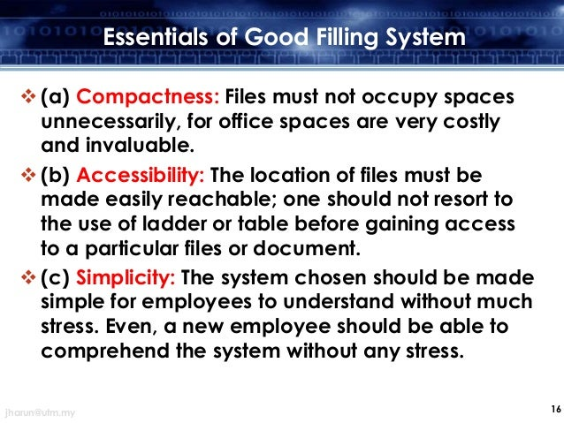 Effective Documents Filling System