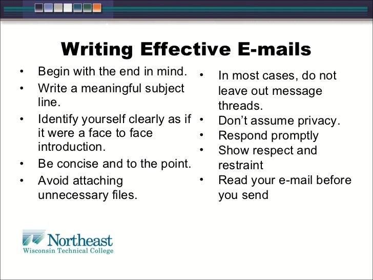 a descriptive tutorial on writing an effective paragraphs
