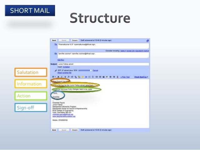 Effective email writing shivanand haralayya email short mail 5 altavistaventures Image collections