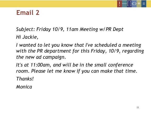 how to make schedule to email
