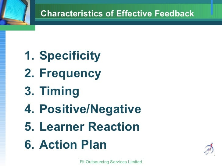 effective feedback What are the secrets to providing highly effective feedback to students what  are the  the right kind of feedback can have a significant impact on learning.