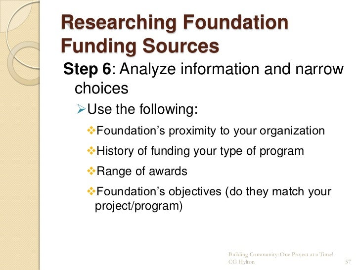 Effective Grant and Proposal Writing slideshare - 웹