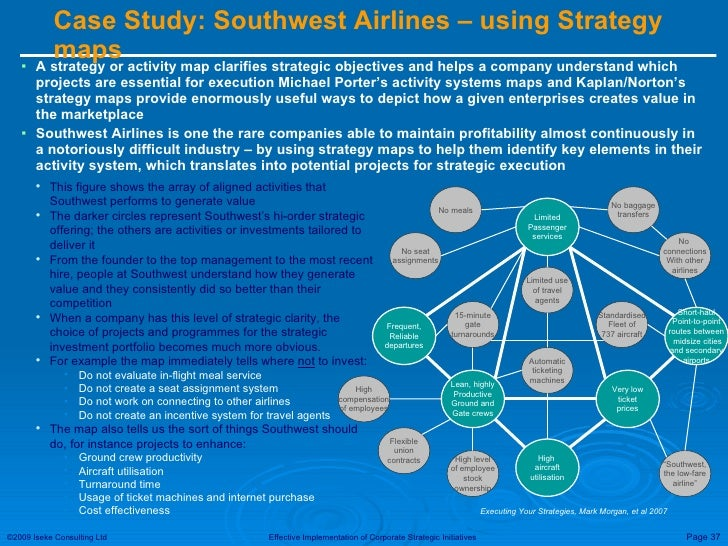 southwest s airlines control systems help execute the firm s strategy Whats impressive about southwest airlines and core values underlying southwest's efforts to implement and execute its which of southwest's strategy.