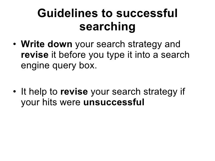 effective internet searching  38
