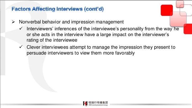 ... Interview; 11.
