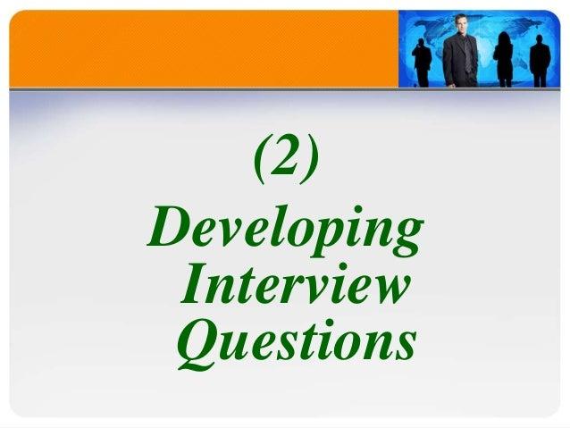 effective interview skills