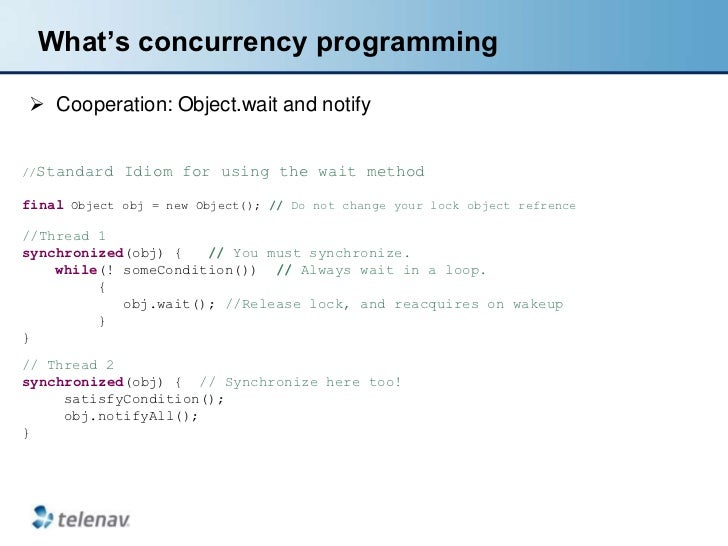Effective java - concurrency