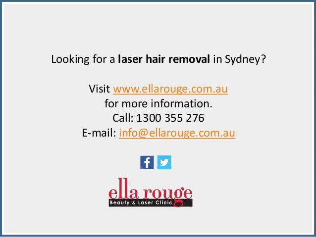 Effective Laser Hair Removal In Sydney