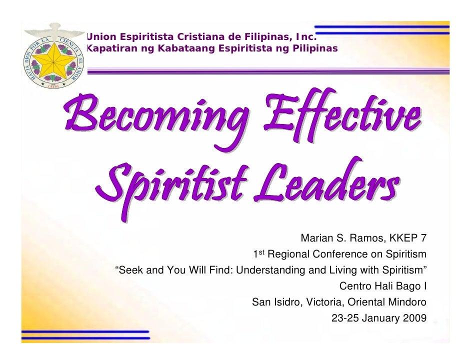 Union Espiritista Cristiana de Filipinas, Inc. Kapatiran ng Kabataang Espiritista ng Pilipinas                            ...