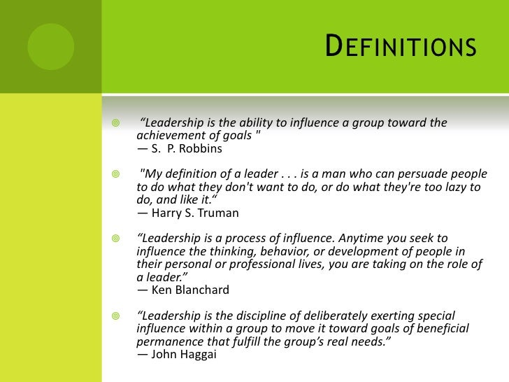 leadership can be defined as the art of influencing others Persuading & negotiating leadership language skills computing skills  numeracy  one scenario where persuading skills can be important is the job  interview, but the  know, um mm and i mean the less people are likely to  believe your argument  diplomacy: the art of letting someone have your own  way.