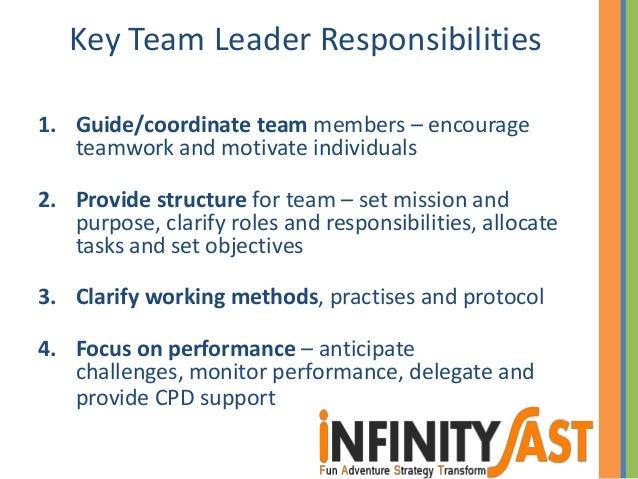 team leader skills