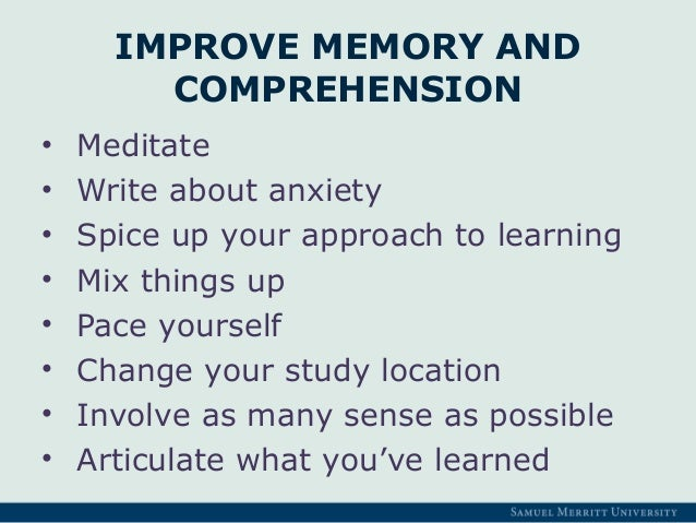 Six methods to improve your memory image 2