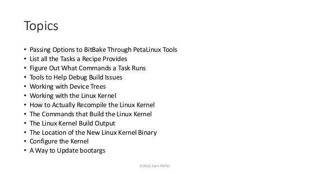 Effective Linux Development Using PetaLinux Tools 2017 4