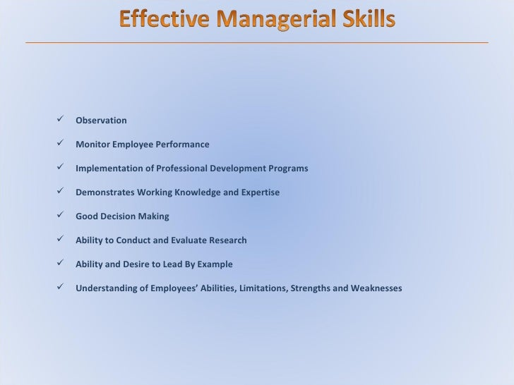 effective management skills to deal with A team must be managed effectively to expect the best from the team members   call every one on an open forum and formulate strategies keeping in mind.