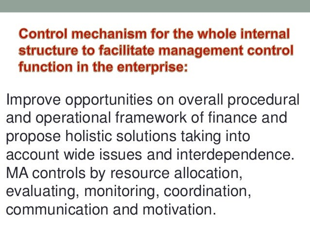 an analysis of the budgeting in management accounting Global management accounting principles: improving decisions and building successful organisations 1  accounting system to provide such analysis financial.