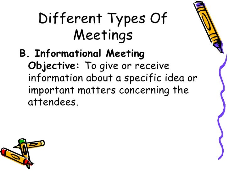 Effective meeting skills resentation