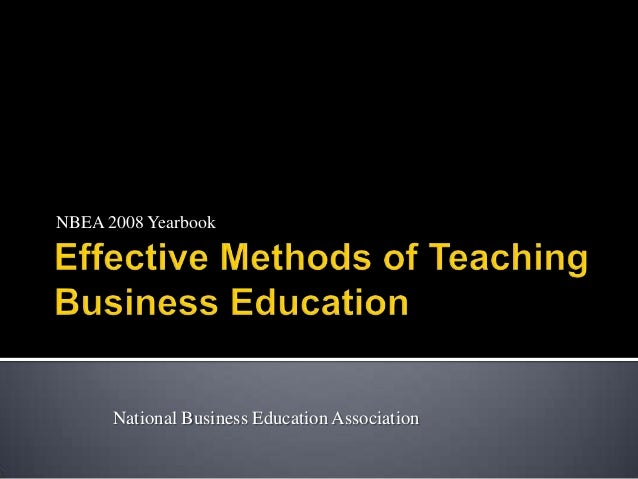 NBEA 2008 Yearbook      National Business Education Association