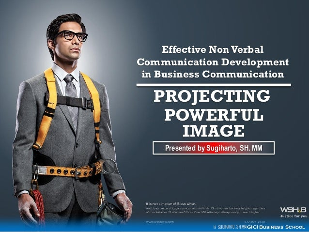 Effective non verbal communication in the business ...
