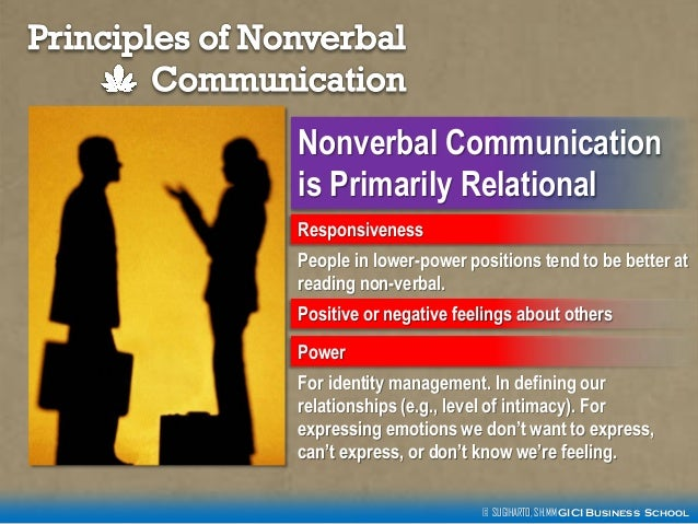 "nonverbal behavior in business communication in Nonverbal communication: communication skills have long since ""unlearned"" this fundamental and indispensable nonverbal behavior business communication."