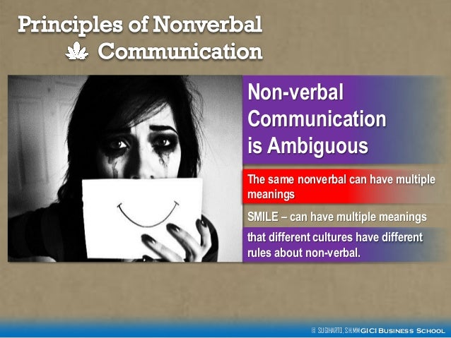 nonverbal communication 6 essay 6 barriers to intercultural communication essay there are six particular barriers to communication between people these are anxiety, assuming.