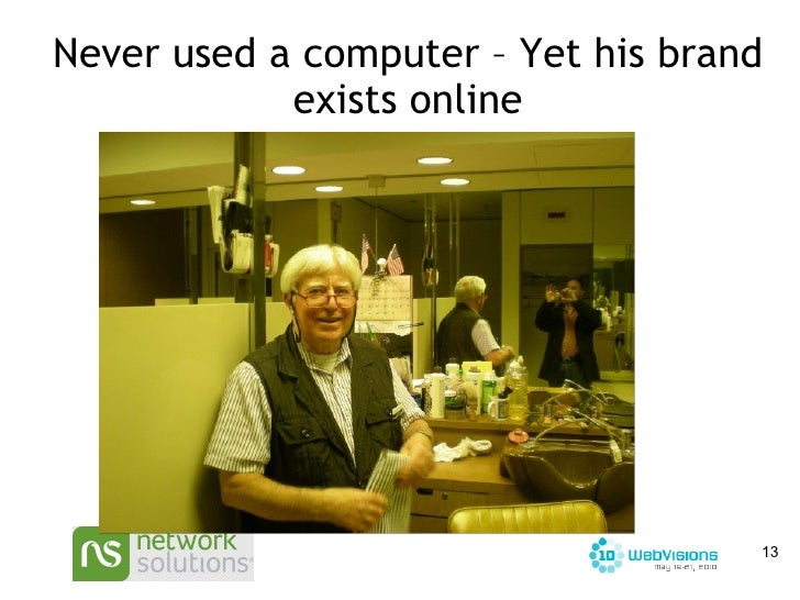 Never used a computer – Yet his brand exists online