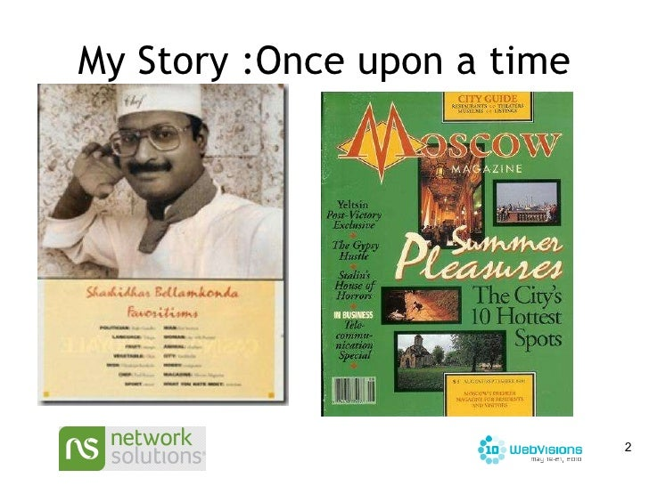 My Story :Once upon a time