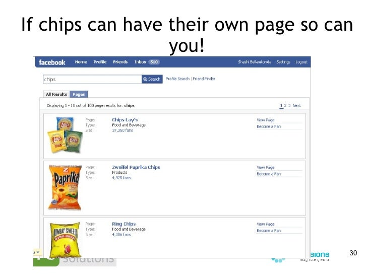 If chips can have their own page so can you!