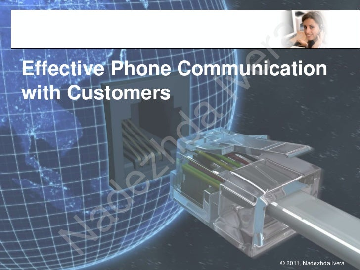 raEffective Phone Communication                   e                Ivwith Customers            da       e zh    ad  N     ...